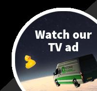 Watch TV add banner