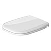 Duravit D-Code Compact Standard Toilet Seat - 0067310099 profile small image view 1