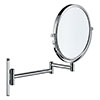 Duravit D-Code Magnifying Cosmetic Mirror - 0099121000 profile small image view 1