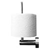 Duravit D-Code Spare Toilet Roll Holder - 0099151000 profile small image view 1