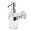 Duravit D-Code Wall Mounted Soap Dispenser - 0099161000 profile small image view 1