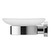 Duravit D-Code Wall Mounted Soap Dish profile small image view 1