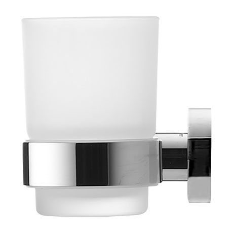 Duravit D-Code Glass Tumbler with Holder