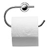 Duravit D-Code Toilet Roll Holder - 0099261000 profile small image view 1
