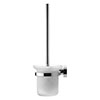 Duravit D-Code Wall Mounted Toilet Brush - 0099271000 profile small image view 1