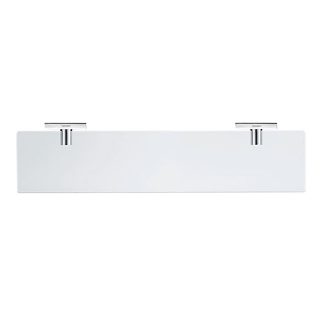 Duravit Karree 600mm Wall Mounted Glass Shelf - 0099501000