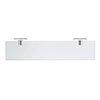 Duravit Karree 600mm Wall Mounted Glass Shelf - 0099501000 profile small image view 1