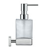 Duravit Karree Wall Mounted Soap Dispenser - 0099541000 profile small image view 1