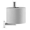 Duravit Karree Spare Toilet Roll Holder - 0099561000 profile small image view 1