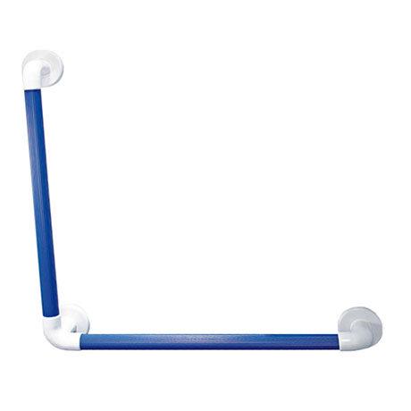 AKW 1400 Series 90° Blue Plastic Grab Rail