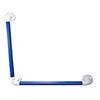 AKW 1400 Series 90° Blue Plastic Grab Rail profile small image view 1