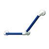 AKW 1400 Series 135° Blue Plastic Grab Rail profile small image view 1