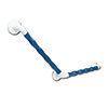 AKW 1600 Series Blue 135° Natural Grip Plastic Grab Rail profile small image view 1