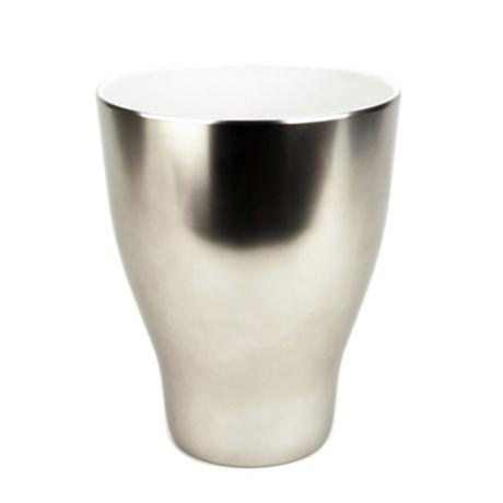 Umbra Shine Waste Can - Nickel - 020225-410
