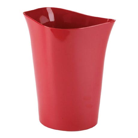 Umbra Orvino Waste Can - Red - 020345-505