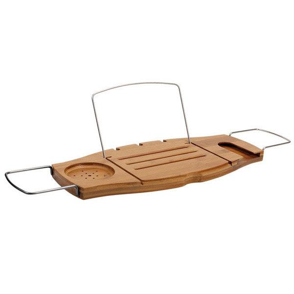 Umbra Aquala Expandable Bamboo Bathtub Caddy Natural