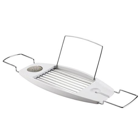 Umbra Oasis Expandable Bathtub Caddy - White - 020395-660 at ...
