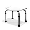 AKW Freestanding Shower Stool profile small image view 1