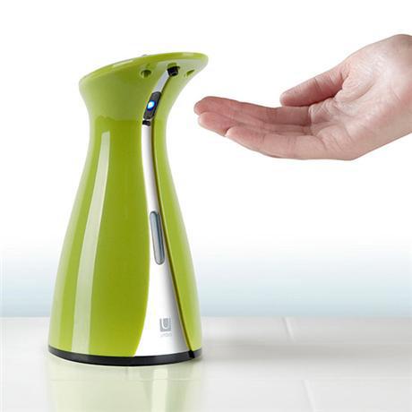 Umbra otto sensor soap pump avocado chrome 023325 112 at victorian plumbing uk - Umbra sensor soap pump ...