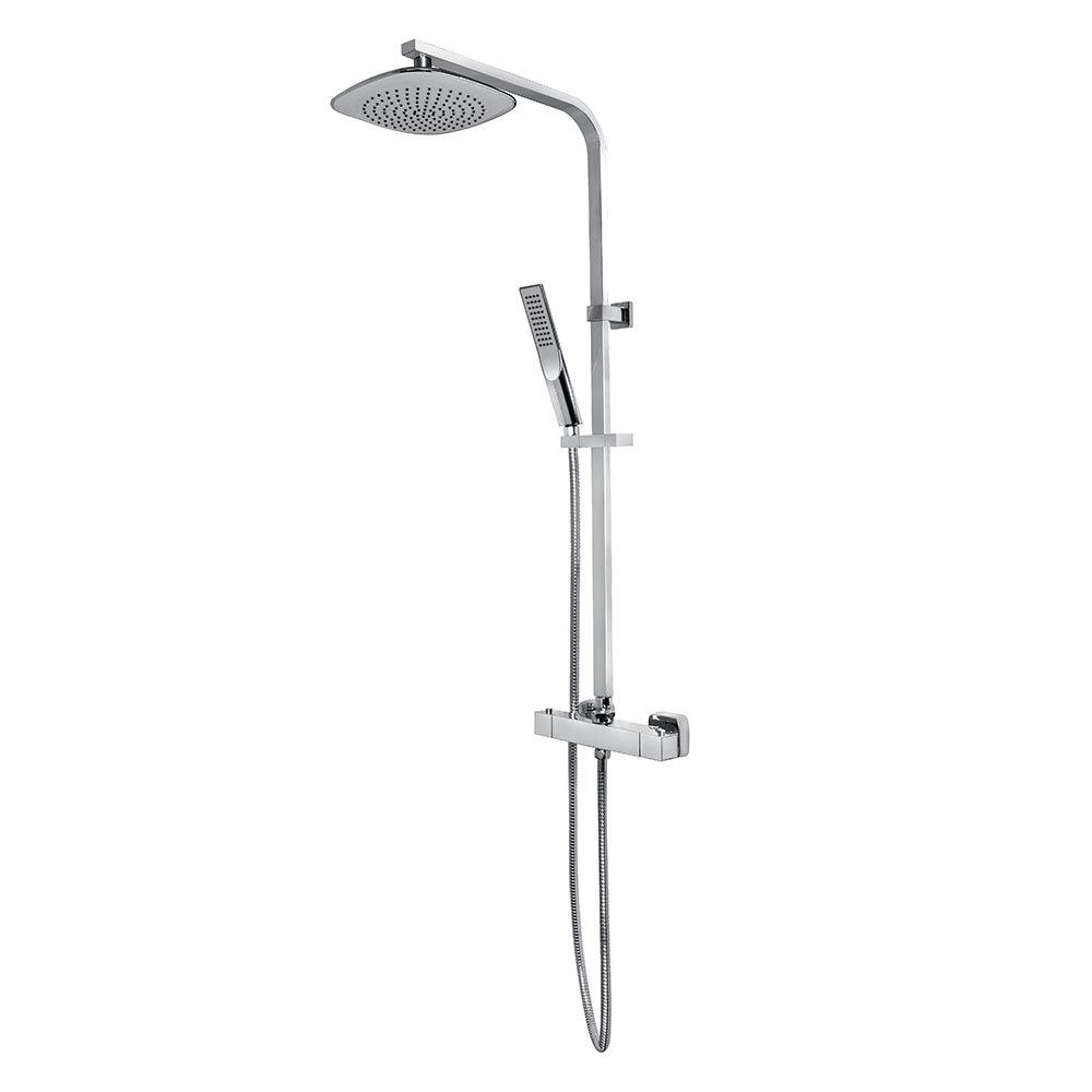 Bristan Trapeze Thermostatic Shower with Rigid Riser