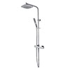 Bristan Trapeze Thermostatic Shower with Rigid Riser profile small image view 1