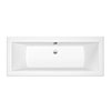 Roca The Gap 1700 x 700mm 0TH Double Ended Bath profile small image view 1