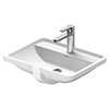 Duravit Starck 3 490mm 1TH Under Counter Basin - 0302490000 profile small image view 1
