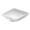 Duravit Starck 3 430mm Under Counter Basin - 0305430000 profile small image view 1