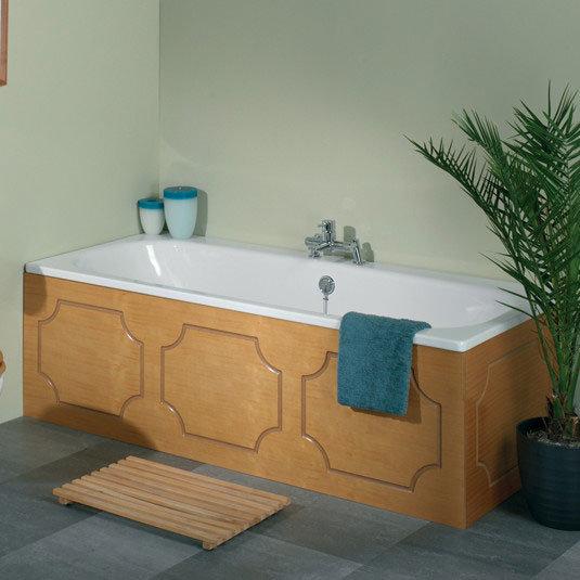 Tavistock Milton Front Bath Panel - Antique Pine profile large image view 2