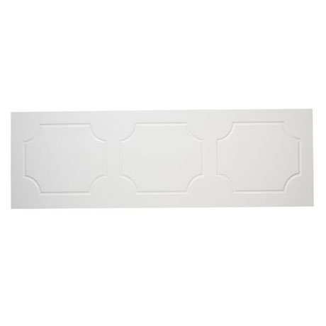 Tavistock Milton Front Bath Panel - White