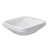 Duravit DuraStyle 430mm Counter Top Basin - 0349430000 profile small image view 1