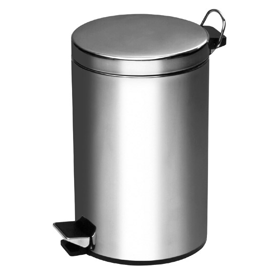 Stainless Steel 5 Litre Pedal Bin - 0506314 Large Image