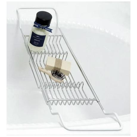 Lloyd Pascal - Large Chrome Extendable Bath Rack - 053.02.097