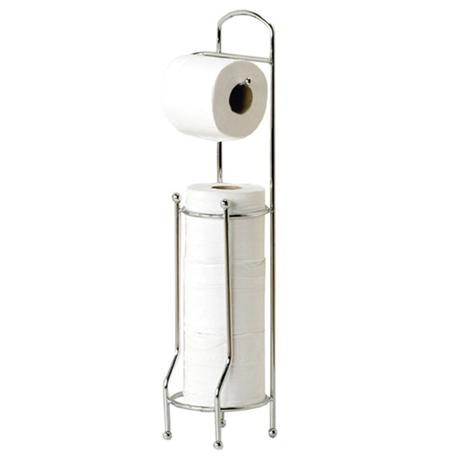 Lloyd Pascal - Victoriana Toilet Roll Holder w/ Toilet Roll Store - 061.02.069