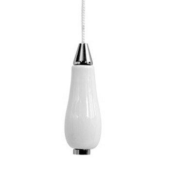 Lloyd Pascal - Ceramic & Chrome Light Pull - 065.62.058 Large Image