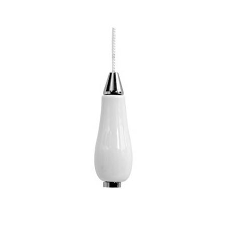 Lloyd Pascal - Ceramic & Chrome Light Pull - 065.62.058
