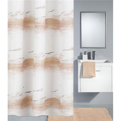Kleine Wolke - Seaside Polyester Shower Curtain - W1800 x H2000 - Plain