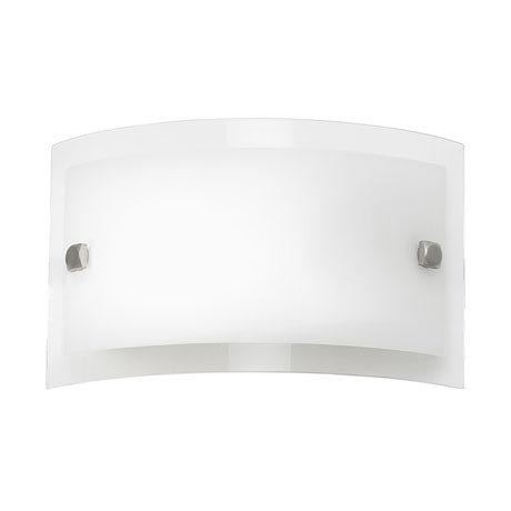 Endon - Phelps Rectangle Glass Wall Light Fitting - 095-20