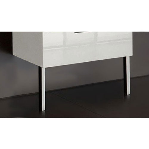 Roca - 2 x Optional Legs for Use with Roca Furniture (pair) - 816406001 profile large image view 1