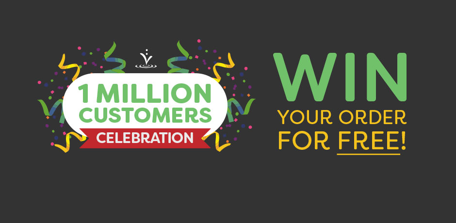 VP's 1 Million Customers Bathroom Giveaway