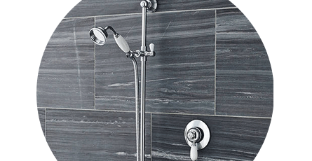One outlet shower system | Victorian Plumbing
