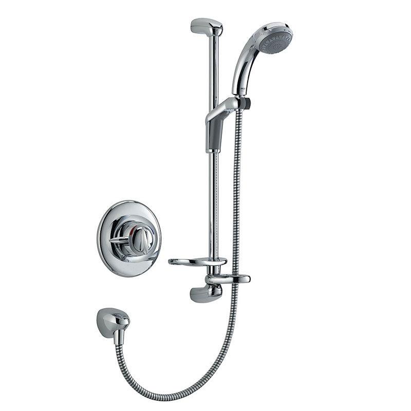 Mira - Gem 88 BIV Manual Shower Mixer - Chrome - 1.1557.003 Large Image