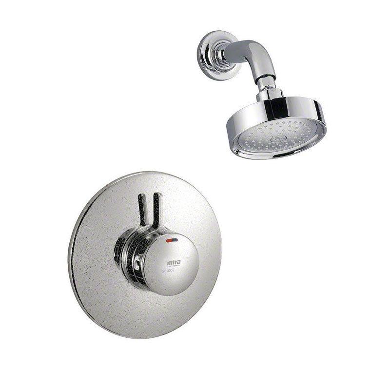 Mira - Select BIR Thermostatic Shower Mixer - Chrome - 1.1592.007 profile large image view 1