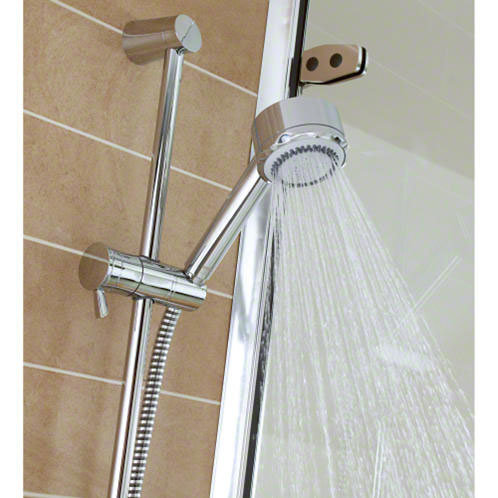 Mira - Discovery EV Concentric Thermostatic Shower Mixer - Chrome - 1.1595.001 Feature Large Image