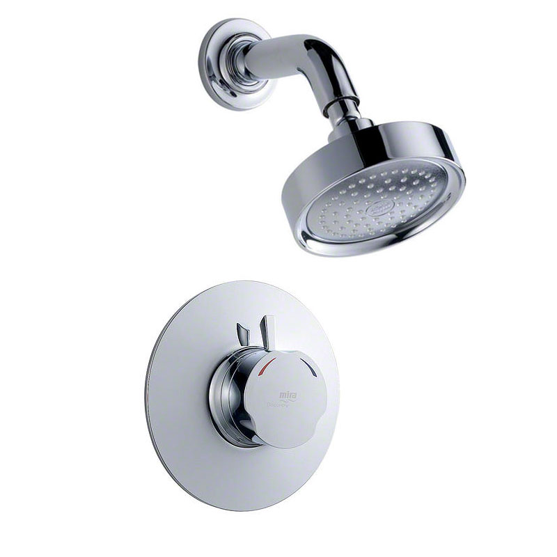 Mira - Discovery BIR Concentric Thermostatic Shower Mixer - Chrome - 1.1595.003 profile large image view 1