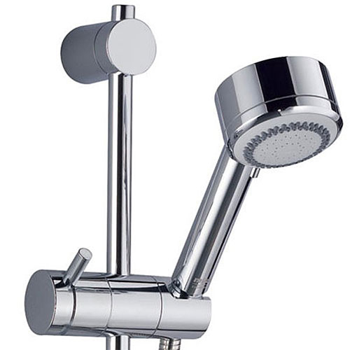 Mira - Silver EV Thermostatic Shower Mixer - Chrome - 1.1628.001 profile large image view 2