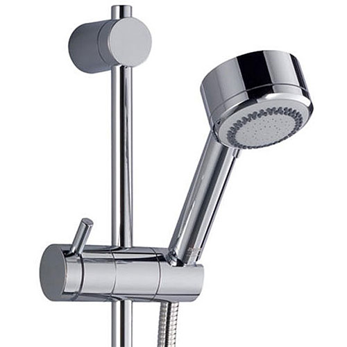 Mira - Silver BIV Thermostatic Shower Mixer - Chrome - 1.1628.002 Profile Large Image