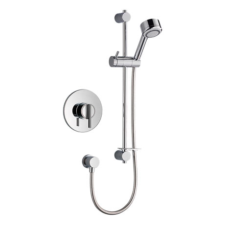 Mira - Silver BIV Thermostatic Shower Mixer - Chrome - 1.1628.002