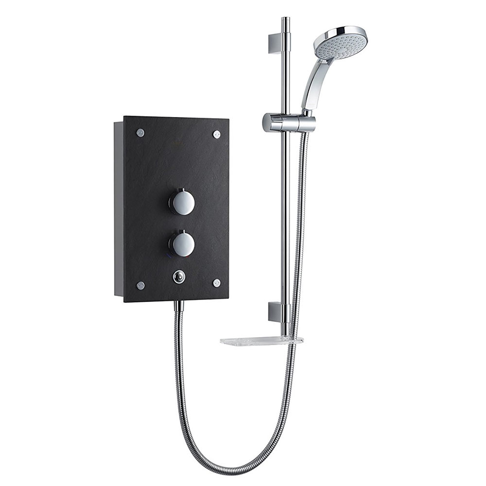 Mira Galena 9.8kW Thermostatic Electric Shower - Slate | A Quick Guide To Mira Showers