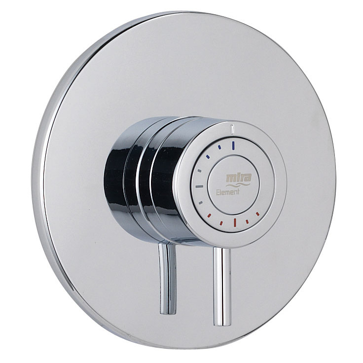 Mira - Element BIV Thermostatic Shower Mixer - Chrome - 1.1656.002 profile large image view 2